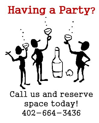 Have your party at Z's Bar and Grill